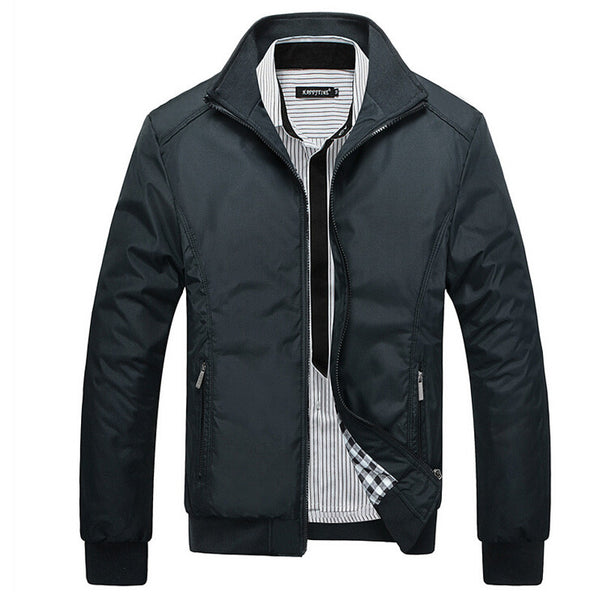Assertive Man Leather Jacket - AmeiThings