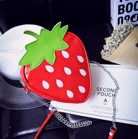 My Strawberry Chain Bag