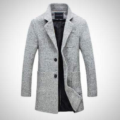 Cold Is Coming Wool Coat - AmeiThings