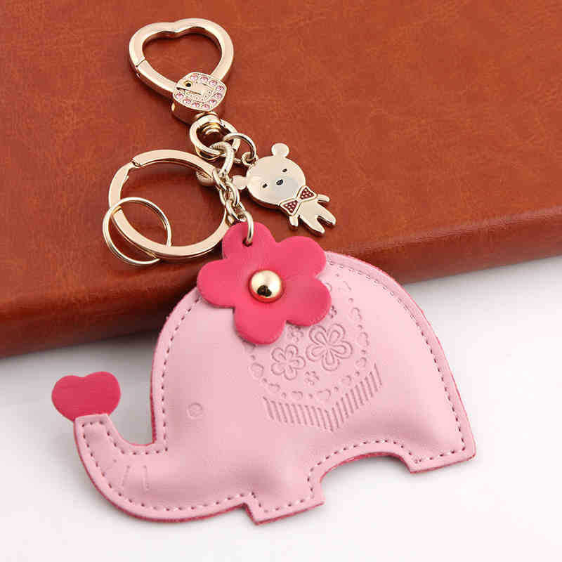 Little Elephant Keychain