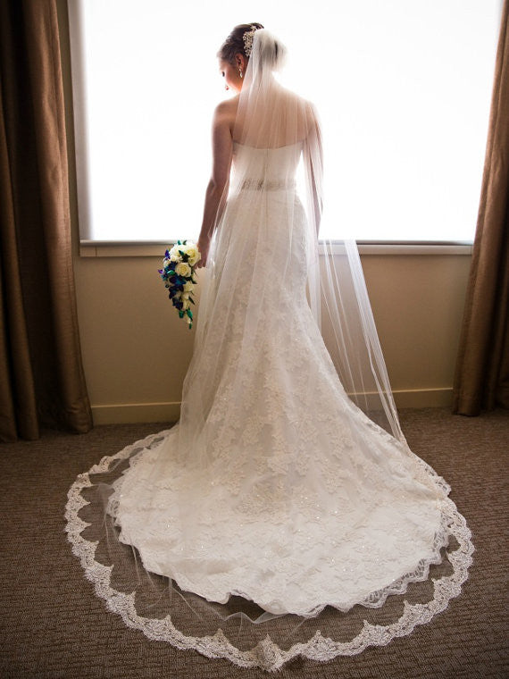 Love Halo Long Wedding Veil