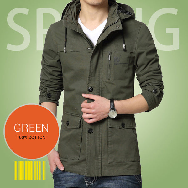 Casual Military Style Jacket - AmeiThings