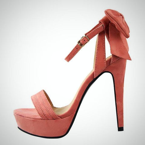High Heels Red Sandals