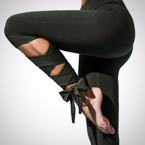 Bow Touch Workout Legging - AmeiThings