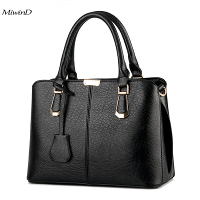 New Arrive Female Crossbody Bag 2017 Hot Leather Handbags Tote Women Messenger Bags Ladies Fashion Leather Portable Shoulder Bag