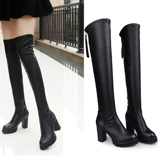 Hugging Your Legs. Ladies Boots