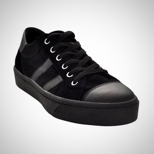 MUSSI Colombian Black Sport Casual Shoes