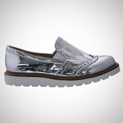 MUSSI Colombian Casual White Platform Shoes