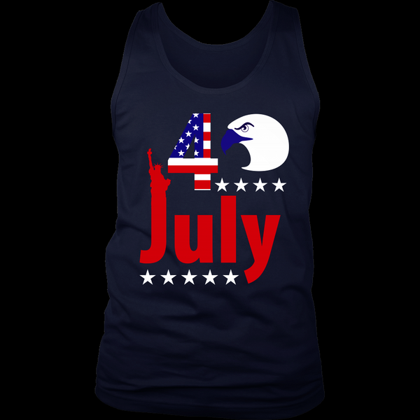 4th of july model 3 - T-shirt - AmeiThings