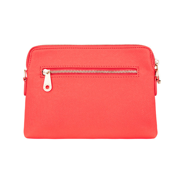 Bowery Wallet/Clutch Camellia Red