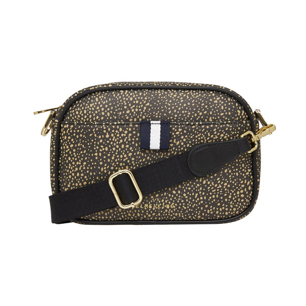 New York Camera Bag Dark Cheetah