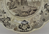 Antique English Cities Oxford Enoch Wood & Sons 10 Inch Plate c 1835
