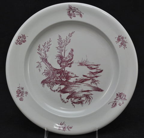 "Wedgwood Mulberry Transfer ""Mennecy"" 12 Inch Chop Plate"