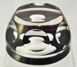 Baccarat Marquis de Lafayette Sulfide Black Background Art Glass Paperweight Box