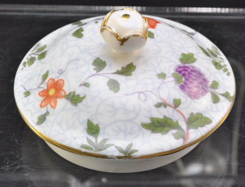 Crown Staffordshire Bird of Paradise Tea Pot Lid