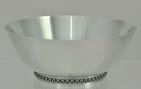 Rare Georg Jensen Sigvard Bernadotte 904 Sterling Silver Bowl with Original Box