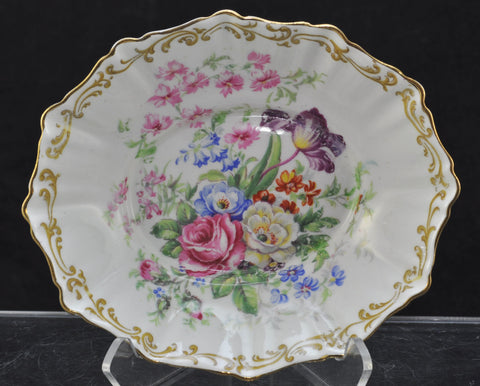 "Royal Albert ""Nosegay"" Bone China Oval Trinket Bowl 1941"