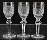 Set(s) of 3 Waterford Cut Crystal Castletown 4 5/8 Inch Cordial Glasses