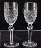 Pair(s) of Waterford Cut Crystal Castletown 6 3/8 Inch Sherry Glasses