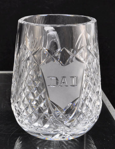 Waterford Cut Crystal DAD Mug Giftware