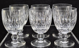 Set of 6 Waterford Cut Crystal Maureen 5 1/4 Inch Water Goblets