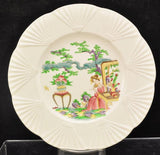 Antique Wedgwood Chinese Lady Plate 20th Century