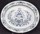 "Antique Wedgwood Blue Transfer ""Mandarin"" 19 Inch Platter c 1900"