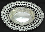 Antique Whiting Art Nouveau Sterling Silver Reticulated Bowl circa 1900