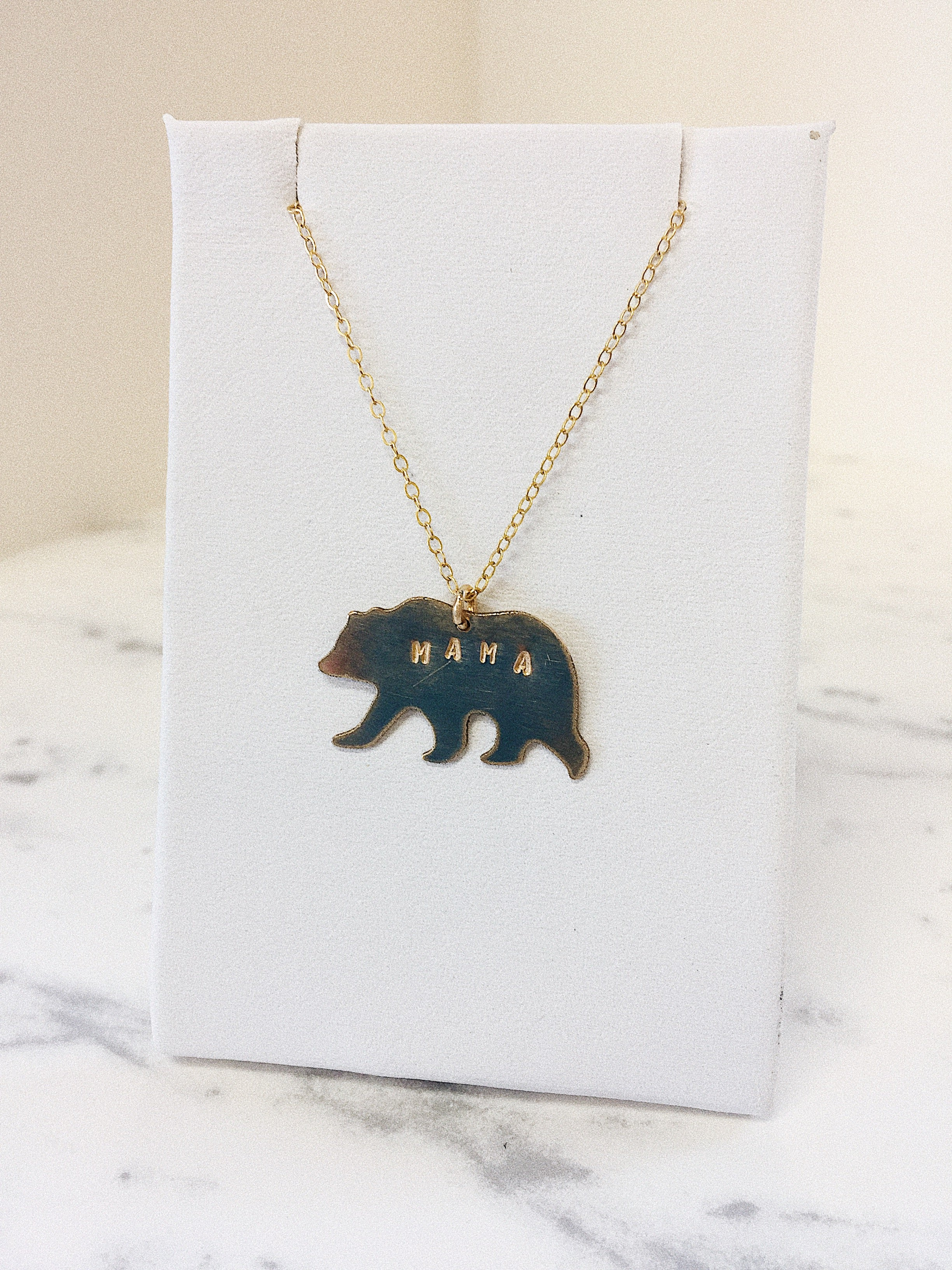 cubs mama pendant alloy products necklace drip bear