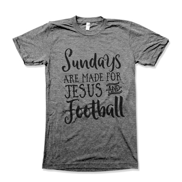 Sunday's Are Made For Jesus and Football