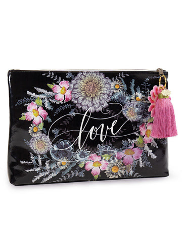 Seeds Large Accessory Tassel Pouch