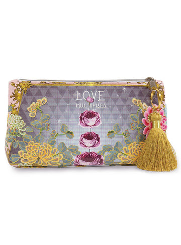Love Multiplies Papaya Art Small Tassel Accessory Bag