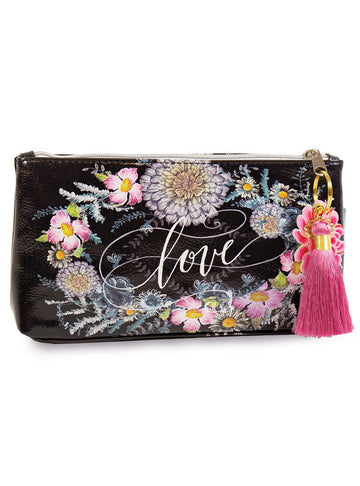 Seeds Papaya Art Small Tassel Accessory Bag