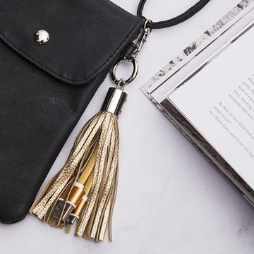 Mia™ Cell Phone Charging Key Ring
