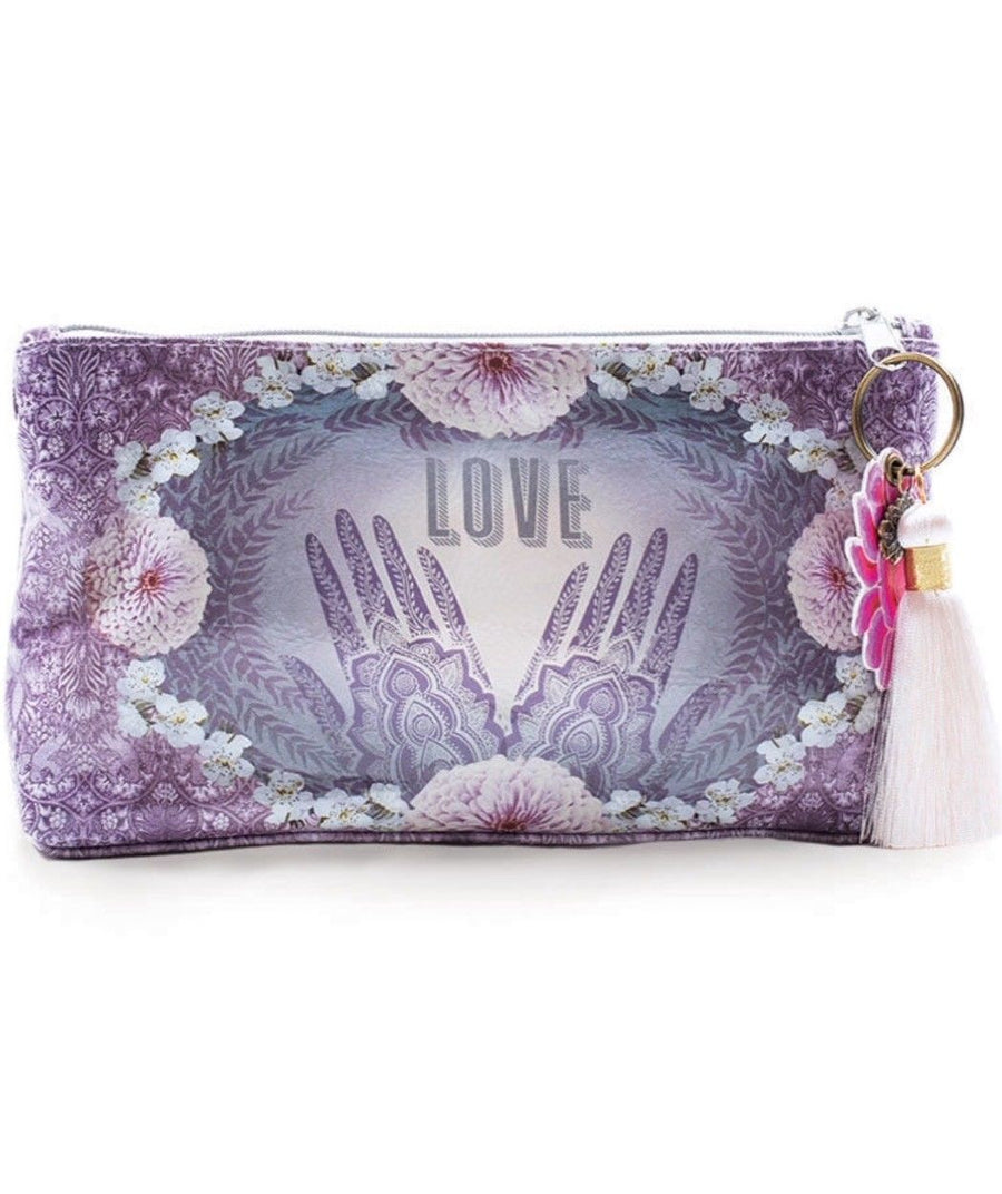 Henna Papaya Art Small Accessory Bag~