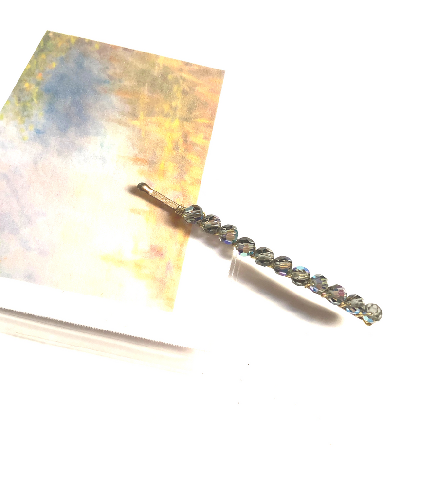 Swarovski Crystal Beaded Bobby Pins