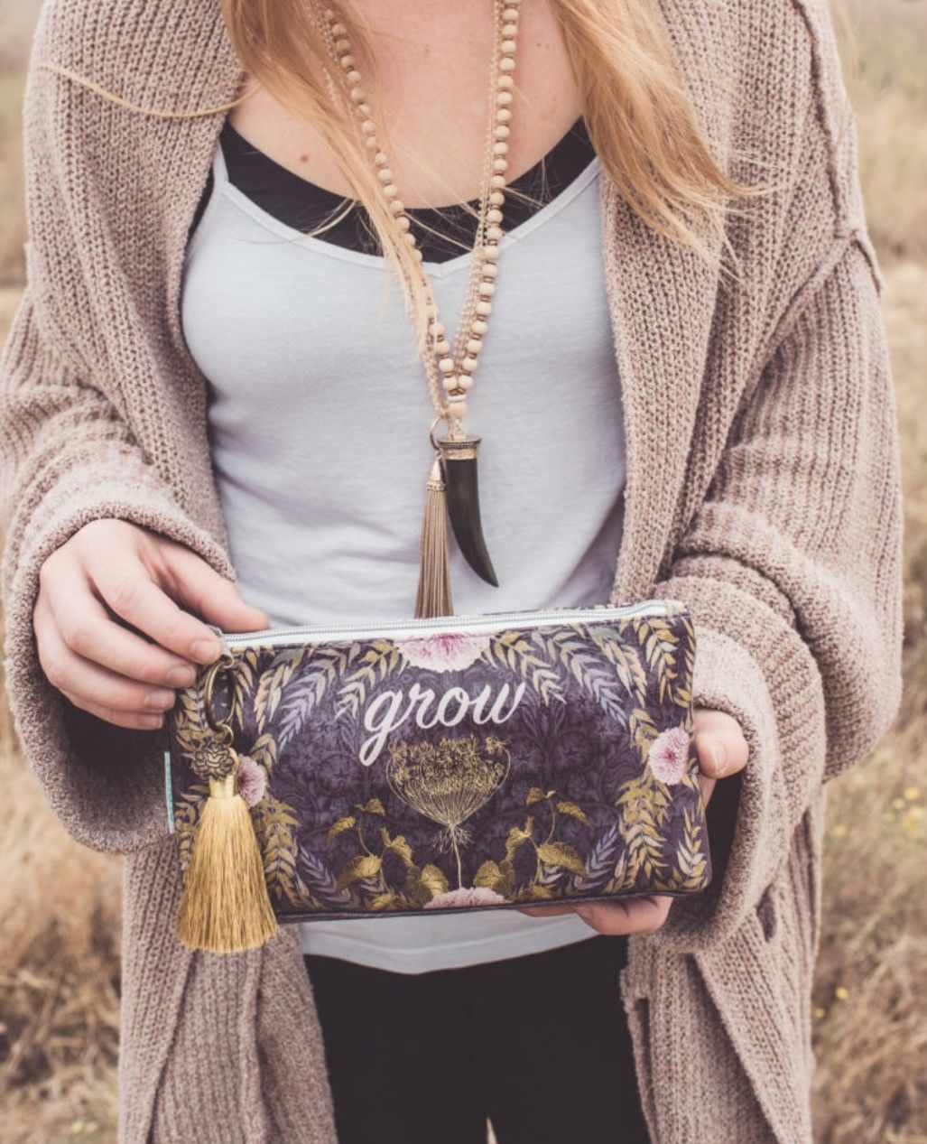 Grow Large Purple Accessory Bag