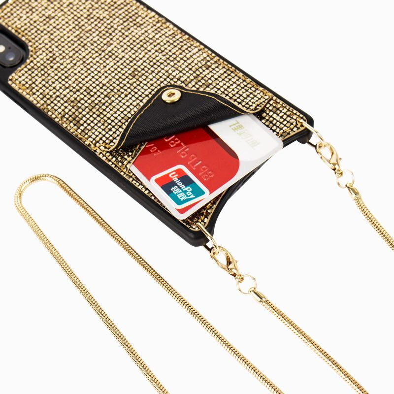 Jenny ™ Bling Crossbody Phone Wallet iPhone Case