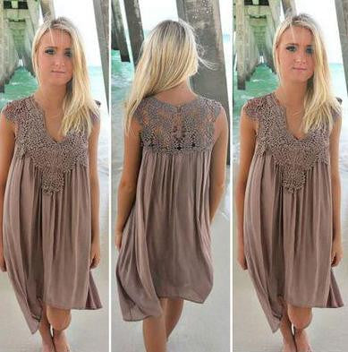 Boho Chic Romantic Dress