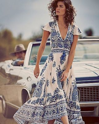 Romantic Vintage Boho Dress