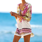 RUBY ™ Snake Print Cover Up