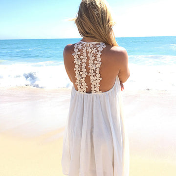 Lace Bikini Cover Up