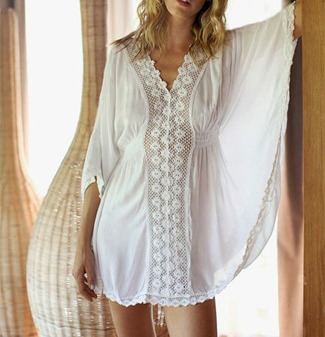 Chic Beach Kaftan Cover Up