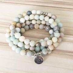 Amazonite Mala Prayer beads📿