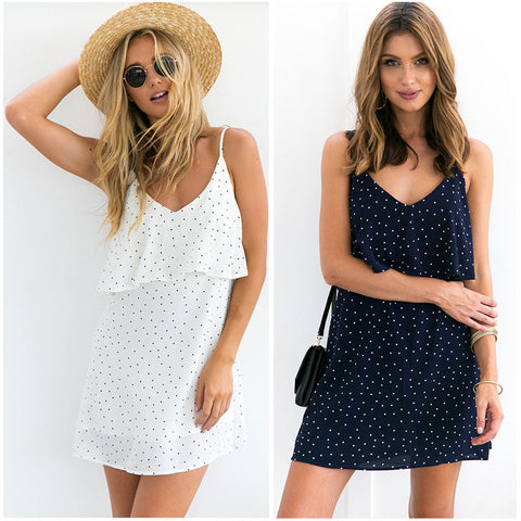 Polka Dot  Boho Dress