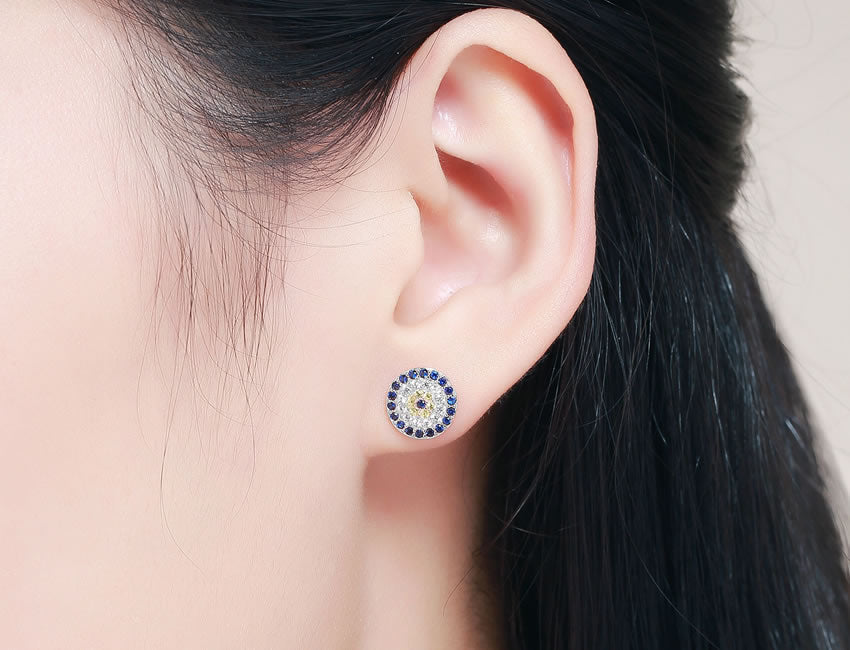 Evil Eye Earrings🙏🏻
