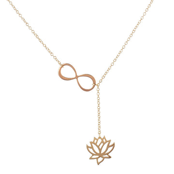 Lotus Necklace 18