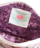 Henna Large Purple Accessory Bag