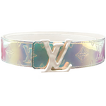 Louis Vuitton 40mm Prism Lv Initials Belt Size 85/34