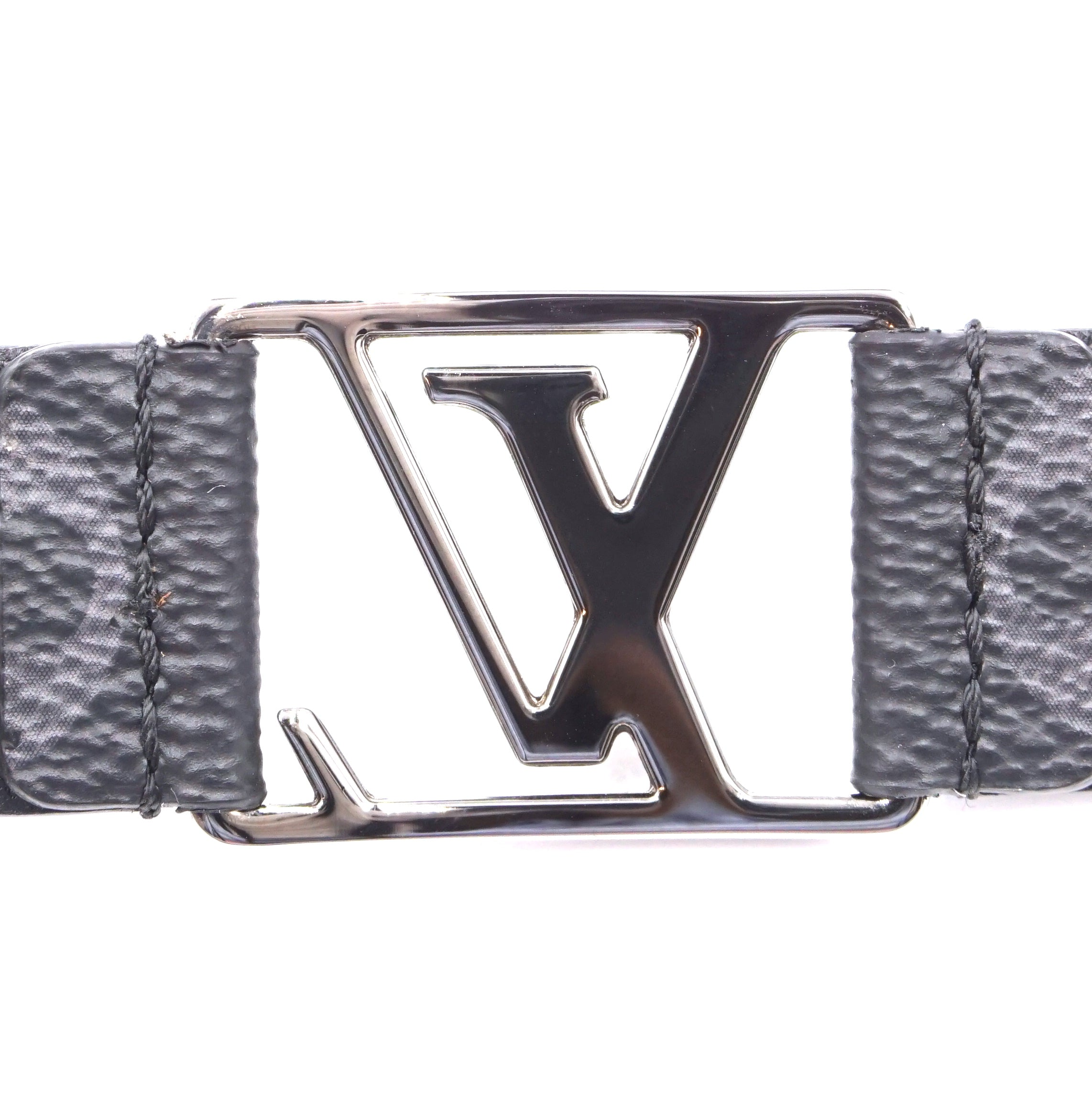 Louis Vuitton Monogram Eclipse Lv Initials Bracelet
